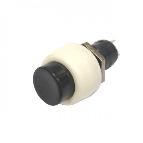 Chave Push Button DS-450 Preta Com Trava