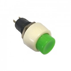 Chave Push Button DS-451 Sem Trava Verde 2T