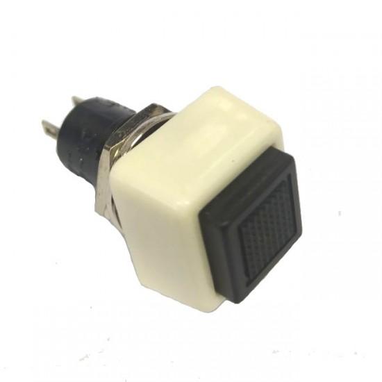 Chave Push Button DS-460 Com Trava Preta 2T