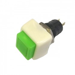 Chave Push Button DS-461 Sem Trava Verde 2T