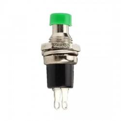 Chave Push Button PBS-110 Sem Trava Verde