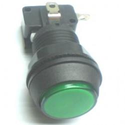 Chave Push Button PBS-30 Sem Trava Verde