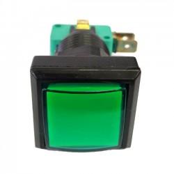 Chave Push Button PBS-31 Sem Trava Verde