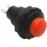 Chave Push Button R13-502 Sem Trava Vermelha