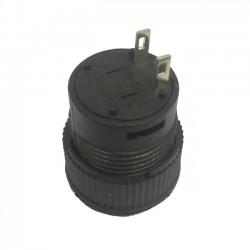 Chave Push Button R16-503A Com Trava Sem Led Amarela 2T