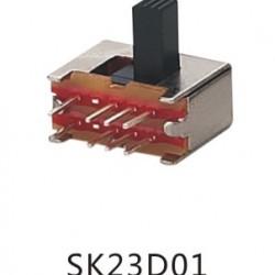 Chave SK-23D01 G10 90 Graus 8 Terminais + Fixação