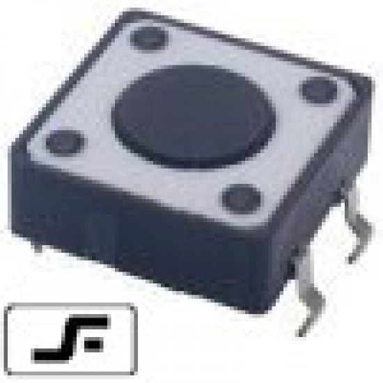 Chave Tactil 12x12x4,3mm 4 Terminais