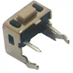 Chave Tactil 3x6x4,3mm 4 Terminais 90 Graus