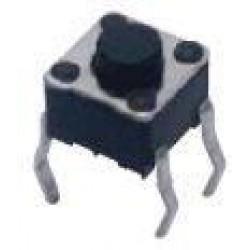 Chave Tactil 4,5x4,5x3,8mm 4 Terminais