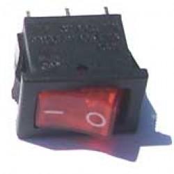 Chave Gangorra KCD11-102 Vermelha (L/L Mini)