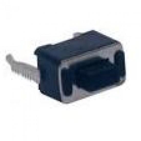 Chave Tactil 3x6x4,3mm 2 Terminais 180 Graus