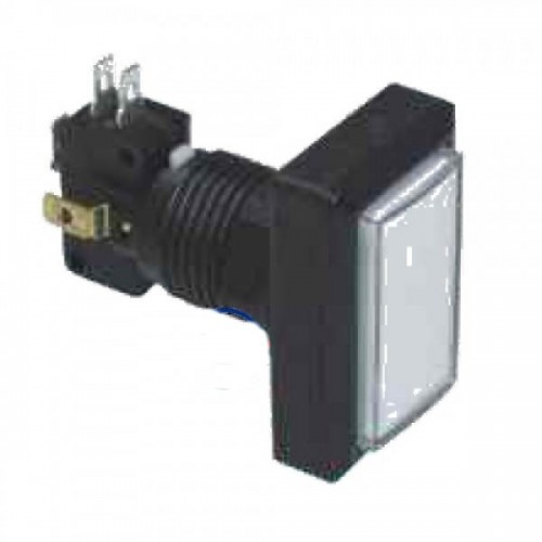 Chave PBS-34 Branca (Tipo Push Button)