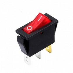 Chave Gangorra KCD2-102N Vermelha C/ Neon E Marcacao