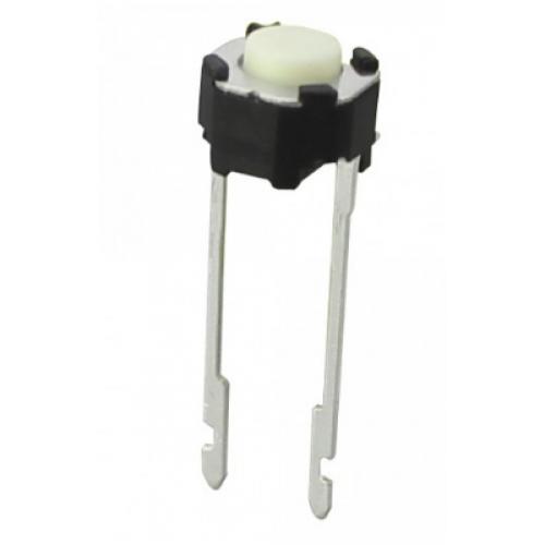 Chave Tactil TSY6650 2T 180G Branca (Redonda 5mm)