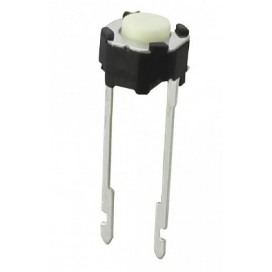 Chave Tactil TSY6643 2T 180G Branca (Redonda 4,3mm)
