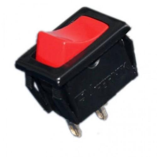 Chave Gangorra FK-303-1-2 Pulsante 1 Lado NA Vermelha Sem Marcação