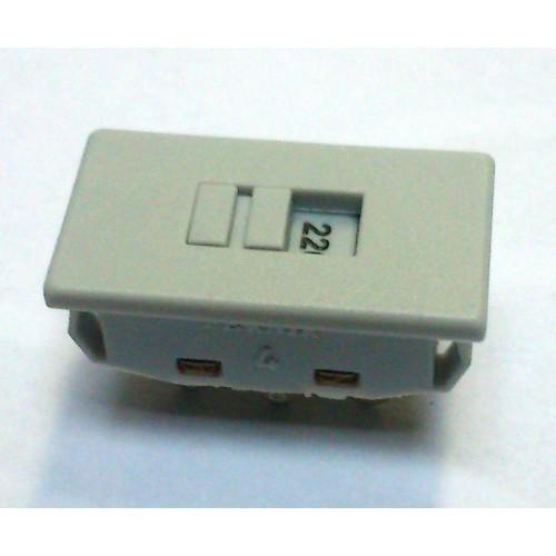 Chave HH 110/220 Grande Plastica Encaixe Cinza (FK-230-0-S-3-3-J)