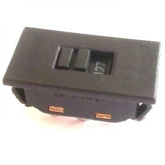 Chave HH 110/220 Grande Plastica Encaixe Preta - FK-230-0-S-1-1-J