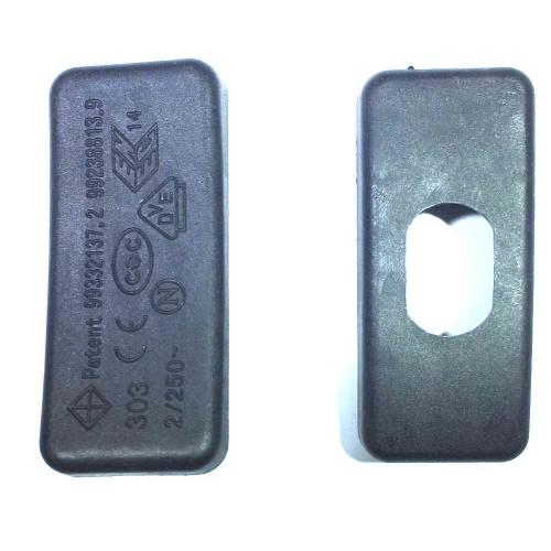 Chave Gangorra KCD1-112 Preta 6A Meio De Fio