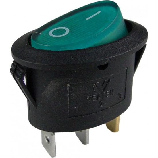 Chave Gangorra KCD1-115N Verde Com Neon