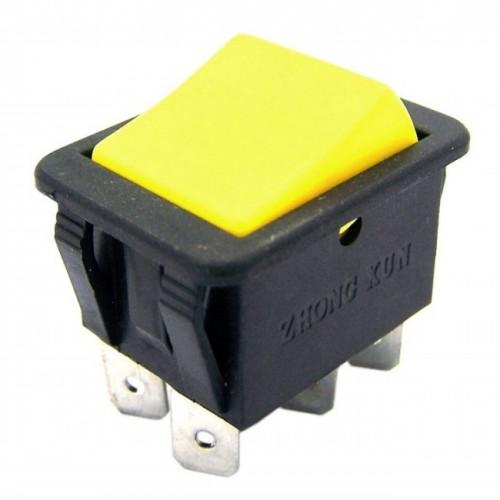 Chave Gangorra KCD4-203RN Amarela 3 Posicões 6T