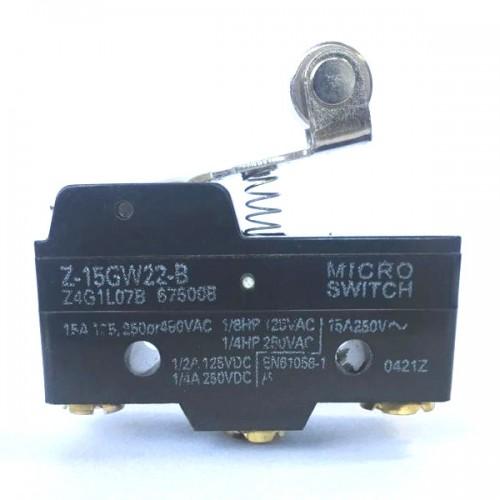 Chave Micro Switch KW-15GW2-B com Aste Curta e Roda