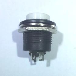 Chave Push Button R13-507 Sem Trava Branco