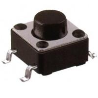 Chave Tactil 6x6x4,3mm 4 Terminais 180 Graus SMD
