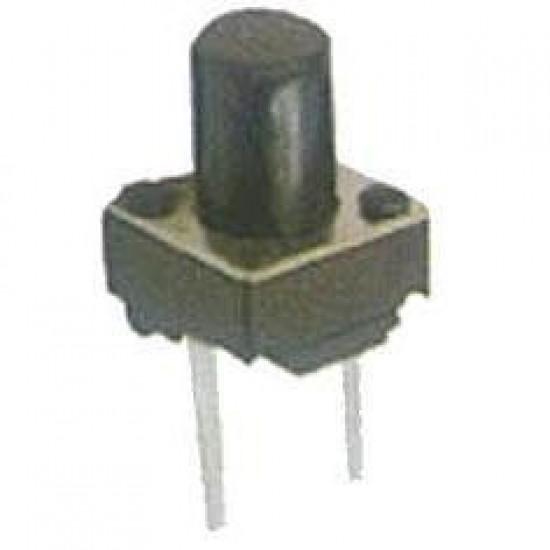 Chave Tactil 6x6x9,5mm 2 Terminais
