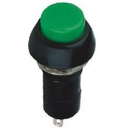 Chave PBS-11A Verde Com Trava (Tipo Push Button)