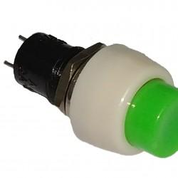 Chave Push Button DS-450 Verde Com Trava