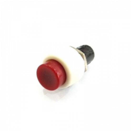 Chave Push Button DS-450 Vermelha Com Trava