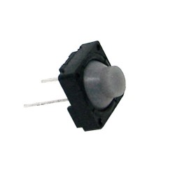 Chave Tactil KLT-112 Emborrachada 8x8 2T 180G Cinza