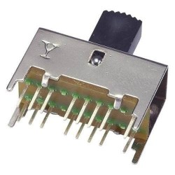 Chave HH SS-43D01 G10 G7 16 Terminais + 4 Fixação 180 Graus