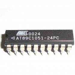 Circuito Integrado Microcontrolador AT89C1051-24PC