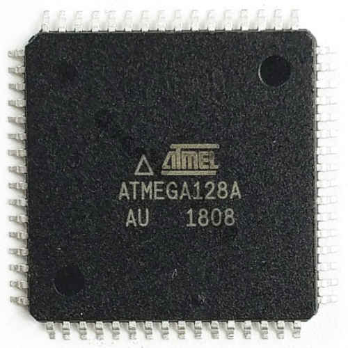 Microcontrolador AVR ATMEGA128A-AU TQFP64 SMD
