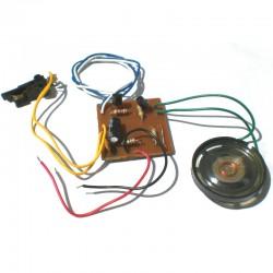 Circuito Musica Para Brinquedo 3V