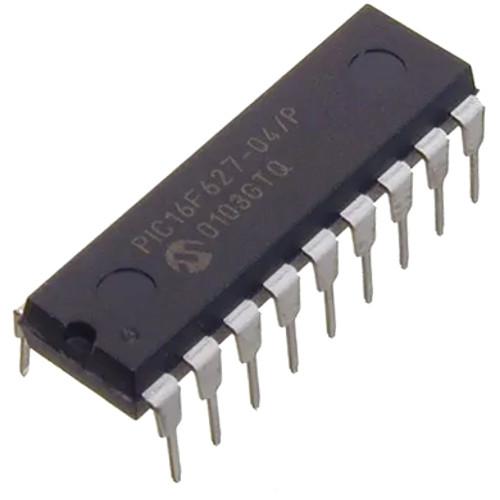Microcontrolador PIC16F627-04/P