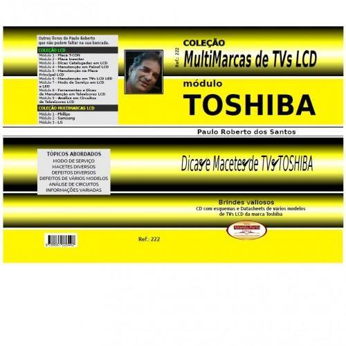 Coleção Multimarcas de TVs LCD Toshiba