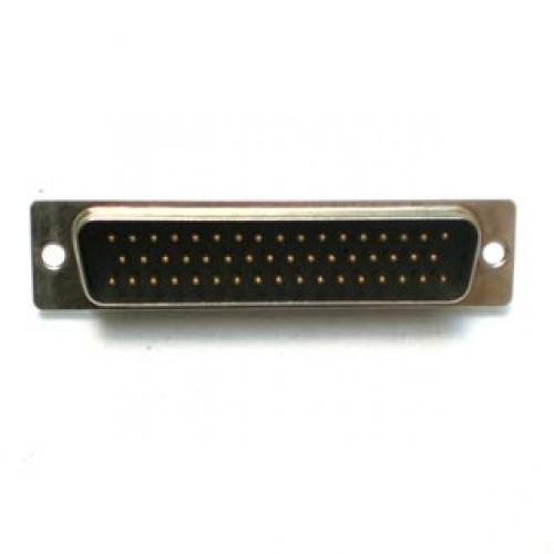 Conector DB50 Macho 180 Graus Solda Fio