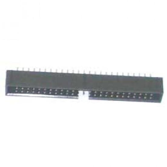 Conector Header 50 Pinos 180 Graus (DS-1013)