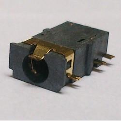 Conector Jack Smd PJ-31060-1 (1,0) 6T Dourado