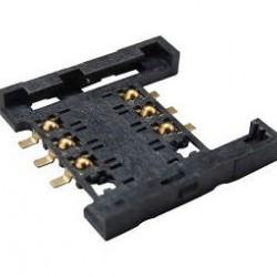 Conector Para Sim Card F06 Tipo Bloco