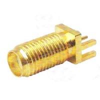 Conector SMAKE - SMA 180 Graus Rosca Longa Femea Para PCI