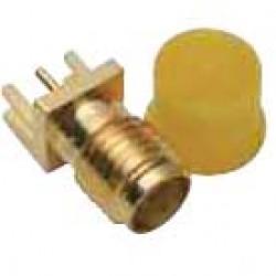 Conector SMAKWE - SMA 180 Graus Rosca Curta Femea Para PCI