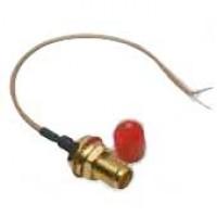 Conector SMAKY-1 - SMA 180 Graus Para Painel Femea Com Cabo