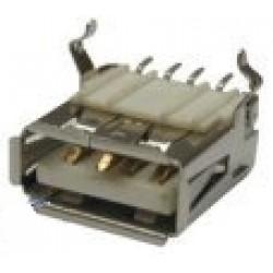Conector USB-A Femea YH-USB01C (SMD)