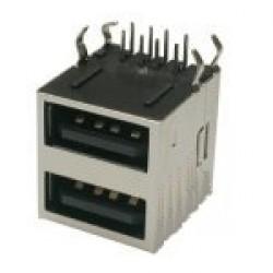 Conector USB-A Femea YH-USB02 (Duplo)
