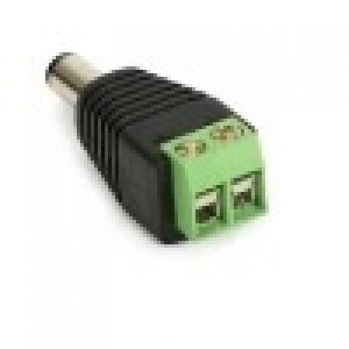 Adaptador Borne KRE Para Plug P4 2,1mm - FL-01