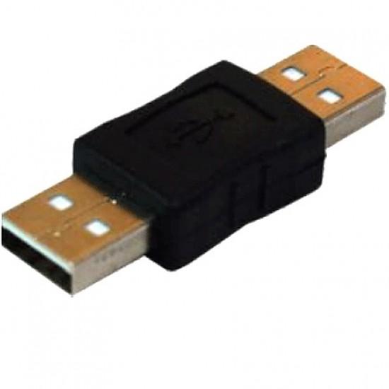 Adaptador USB-A Macho Para USB-A Macho
